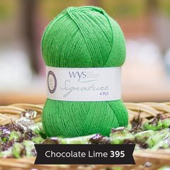 West Yorkshire Spinners - Signature 4ply - Chocolate Lime