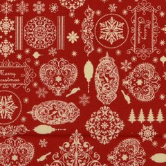 Festive Wishes - Red
