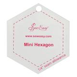 Sew Easy Template - Mini Hexagon