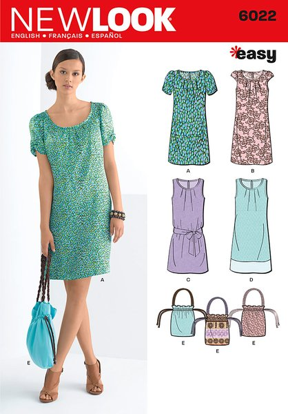 New Look Sewing Pattern 6022