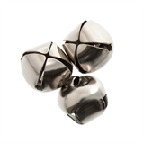Bells: Jingle: 10mm: Silver: 9 Pack