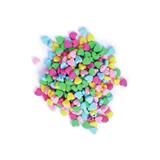 Heart Beads: Plastic: 20g