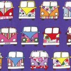 Driving Campervans - Purple