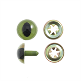 Toy Eyes: Safety: Cats: 15mm: 4 Pack