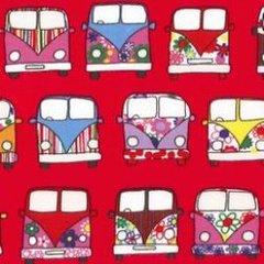 Driving Campervans - Red