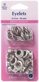 Eyelets Refill Pack: Nickel/Silver- 8.7mm