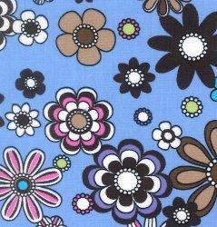 Flower Power - Blue