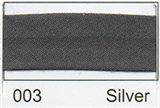 25mm Bias Binding - Silver