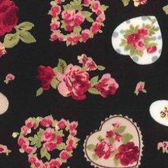 Floral Love - Black