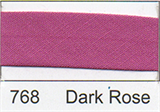 25mm Bias Binding - Dark Rose