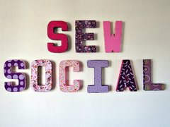 9th May - Wednesday evening - Sew Social Session