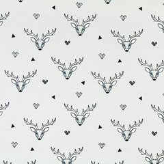 Stag Light Grey Jersey