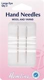 Hand Needles Wool & Yarn Needles: Metal: 2pcs