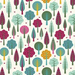 Blank Quilting - Daydream - Trees