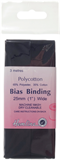 Polycotton Bias Bindings: Navy - 25mm