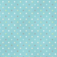 Clothworks - Guess How Much I Love You - Spots - Blue