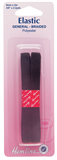 General Purpose Braided Elastic: Black - 2m x 9mm