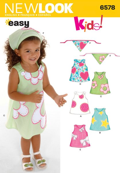 New Look Sewing Pattern 6578