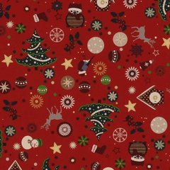 Christmas Cheer - Red