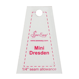 Sew Easy Template - Mini Dresden