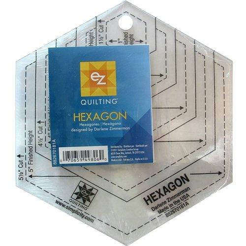 Hexagon Acrylic Ruler