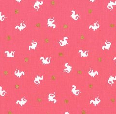 Michael Miller - Magic - Baby Dragon - Pink