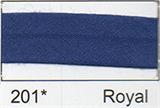 25mm Bias Binding - Royal Blue