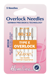 Overlocker/Serger Machine Needles - Type E