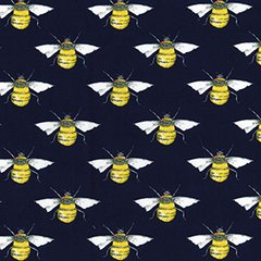 Bees - Navy