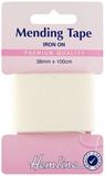Iron-On Mending Tape: Cream - 100cm x 38mm