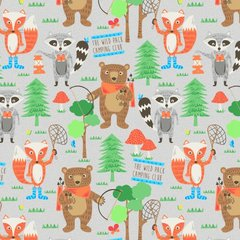 Blank Quilting - Camping Club - Woodland Animals