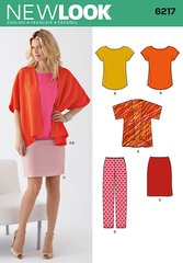 New Look Sewing Pattern 6217