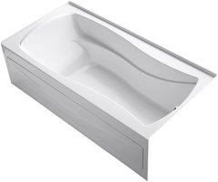 KOHLER K-1259-RA-0 Mariposa 6 ft. Right-Hand Drain with Intergral Tub