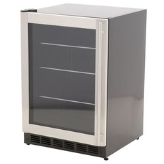 Magic Chef MCBC58DST 178 Can (12 oz.) 5.8 cu. ft. Beverage Cooler, Stainless Door