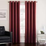 "Twilight 95"" Room Darkening Grommet Window Curtain Panel in Spice"