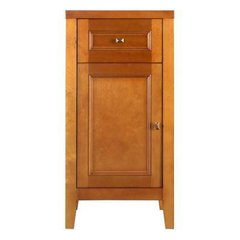 Foremost TRIF1835D Exhibit 17-1/2 in. W x 35 in. H Floor Cabinet in Rich Cinnamon