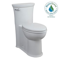 American Standard 2786.128.020 Tropic RH Elongated One Piece Flowise Toilet, White