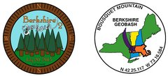 Berkshire Geobash #2 Geocoin (2013) with proxy coin