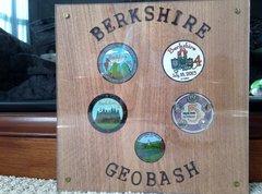 BGB 5-Year Geocoin Plaque
