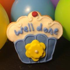 Blue Cupcake!