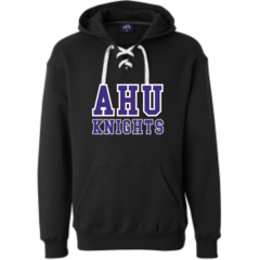 AHU Unisex Lace Up Sweatshirt with Midget Logo