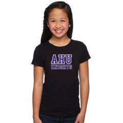 AHU Girls tee with Midgets Logo