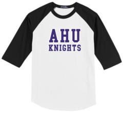 AHU Youth Baseball Shirt with Midget Logo