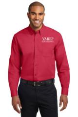 VAREP Men's Button-Down Collar, Long Sleeve