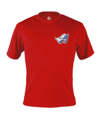 Angels Softball Men's Performance Tee with chest print