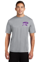AZ Rampage Men's Performance Tee with chest print