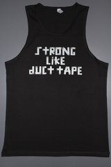 """Fitness """"Strong Like Duct Tape"""" cotton tank"""