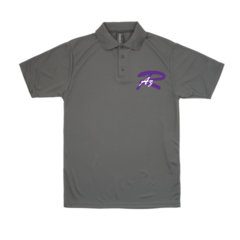 AZ Rampage Men's Performance Polo with chest print