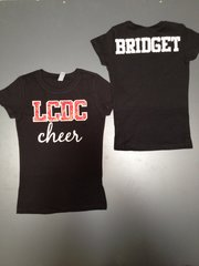 Custom Cheer/Dance/Pom/Drill/Team shirt- adult