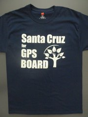 Santa Cruz for GPS School Board LADIES' TEE